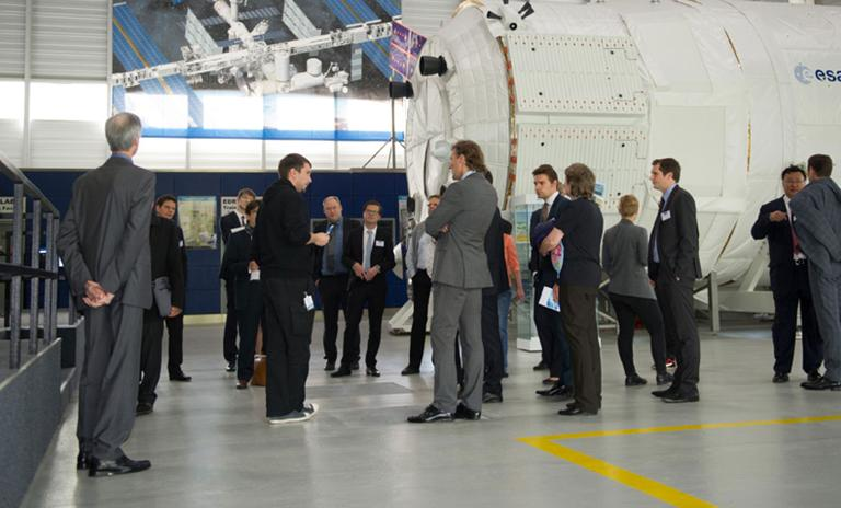Convention guests had the opportunity to learn more about future aviation and space technology.