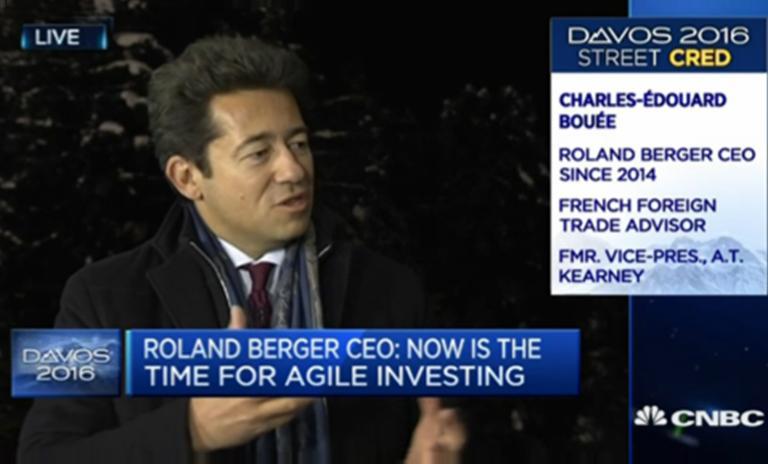 Roland Berger CEO Charles-Edouard Bouée interviewed on CNBC