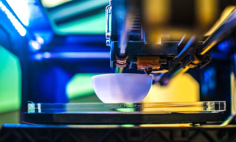 3D printing machines account for less than 1.5% of the machine tool market.