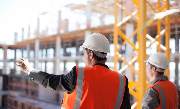Robotic elevators will assist scaffolding assembly on construction sites in the near future.