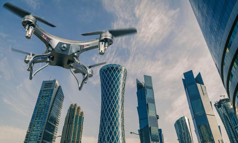 Potential relief for commuters normally stuck in traffic jams, stressed parcel couriers and ambulances dealing with emergencies: drones and flying vehicles in the urban environment