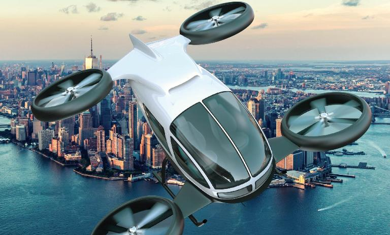Passenger drones in operation forecast