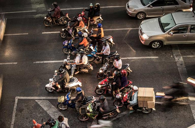 Rise of scooters: In the last 10 years, the share of scooters in Indonesian motorcycle sales rose from 20% to 84%.