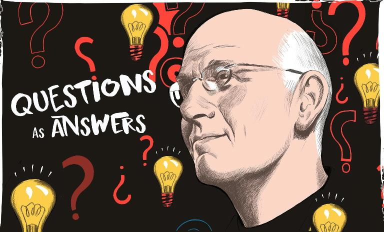 Hal Gregersen recommends the technique of 'question bursts' which focuses on finding better challenges to address.