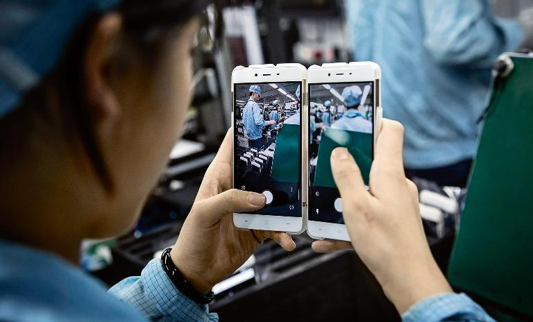 Stiff competition: Companies like Chinese upstart OnePlus are crushing the profits of established manufacturers.
