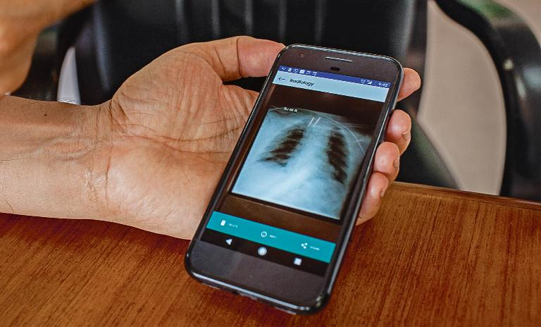 Proving innovation also lies in the process, NH is developing an app called HealthFile to keep patient records in one place, send scans from village labs and lower operational costs even further.
