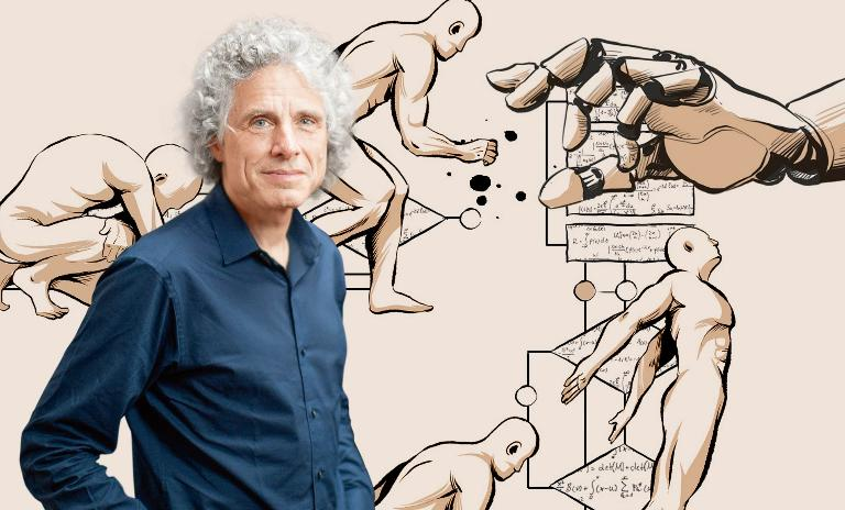 Currently a professor of psychology at Harvard, Steven Pinker has also taught at Stanford and MIT.