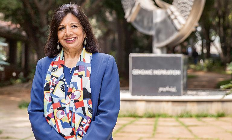 From the ground up: Kiran Mazumdar-Shaw turned a chance meeting into a world-class company at the forefront of its field.