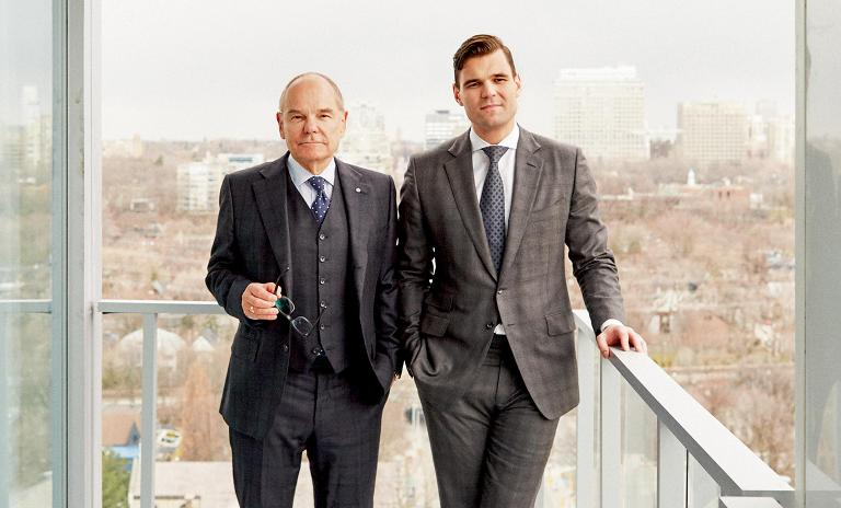 A FAMILY AFFAIR: Father and son duo Don Tapscottand Alex Tapscott bring two generations of insight to the blockchain debate.