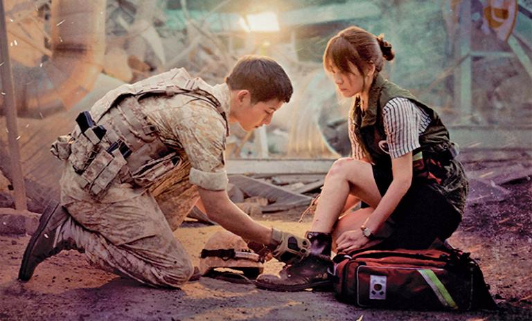 Descendants of the sun: A hit in South Korea when it premiered in April 2016. iQIYI provides it to the Chinese market as part of its premium content for paid subscribers.