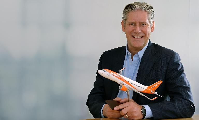 easyJet Chief Executive Officer Johan Lundgren