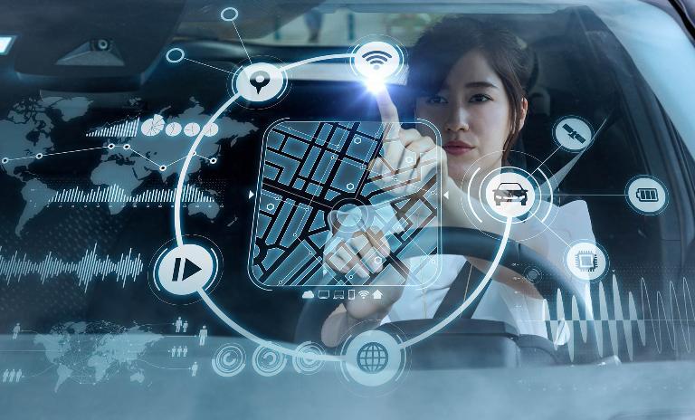 Autonomous / futuristic car