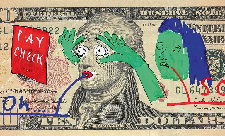 """""""PAY CHECK"""" by Frank Höhne"""