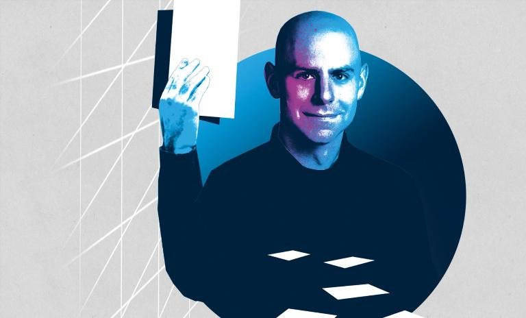 The organizational psychologist Adam Grant focuses on two major issues: ethical behavior and innovation.