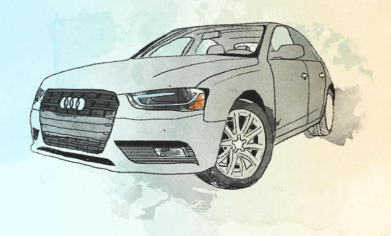 Silvercar offers only one model of car, a silver Audi A4 with a navigation system, Wi-Fi and satellite radio.