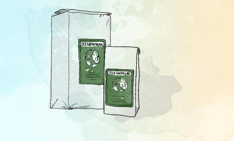 Teekampagne offers its customers top quality Darjeeling tea for a third less than its competitors.