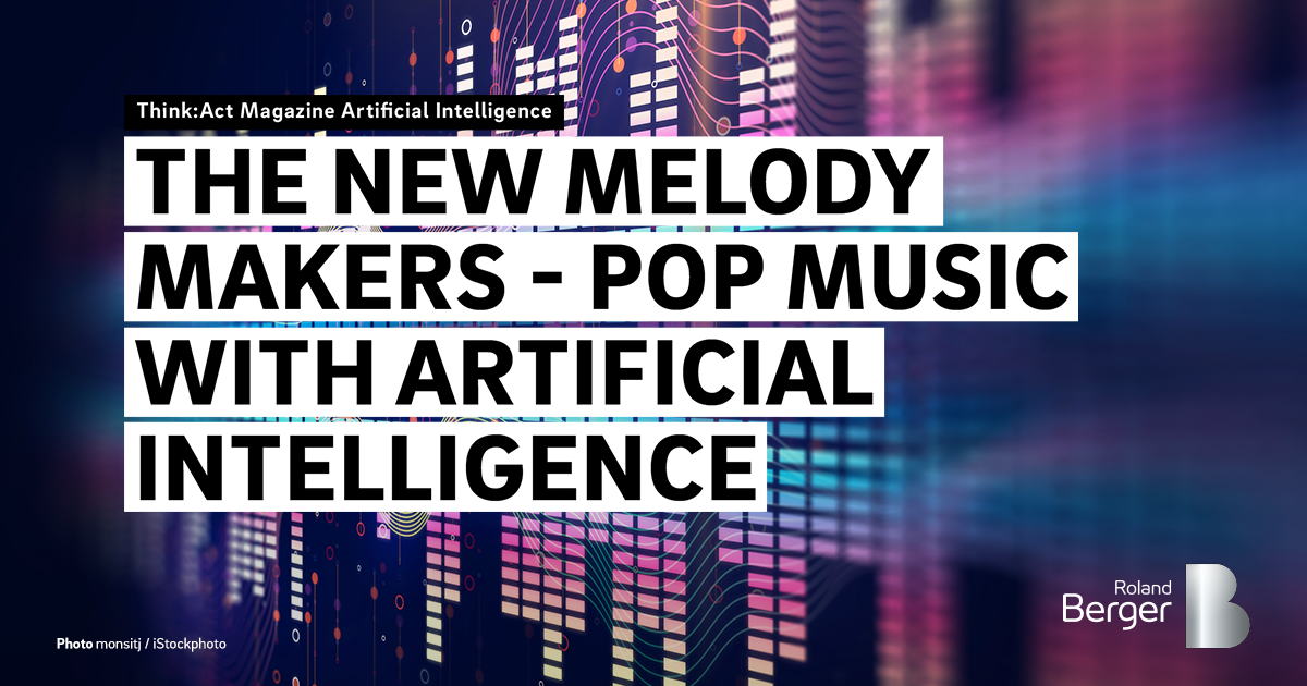 Could artificial intelligence produce a hit song? — Roland
