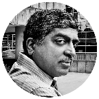 Portrait of Nandan Nilekani