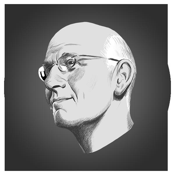 Portrait of Hal Gregersen