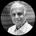 Portrait of Nand Kishore Chaudhary