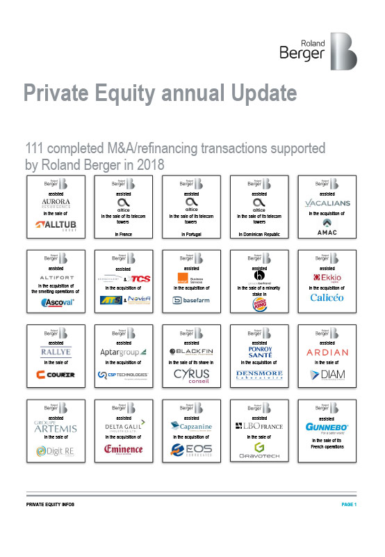 Private Equity Annual Update 2018 — Roland Berger