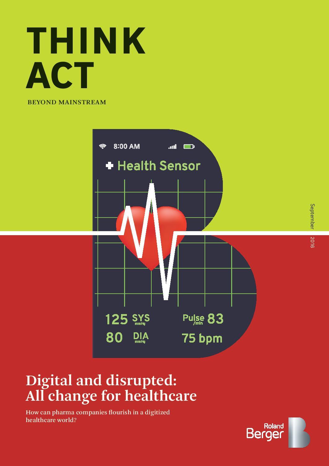 digitaler gesundheitsmarkt wà chst bis 2020 um durchschnittlich 21